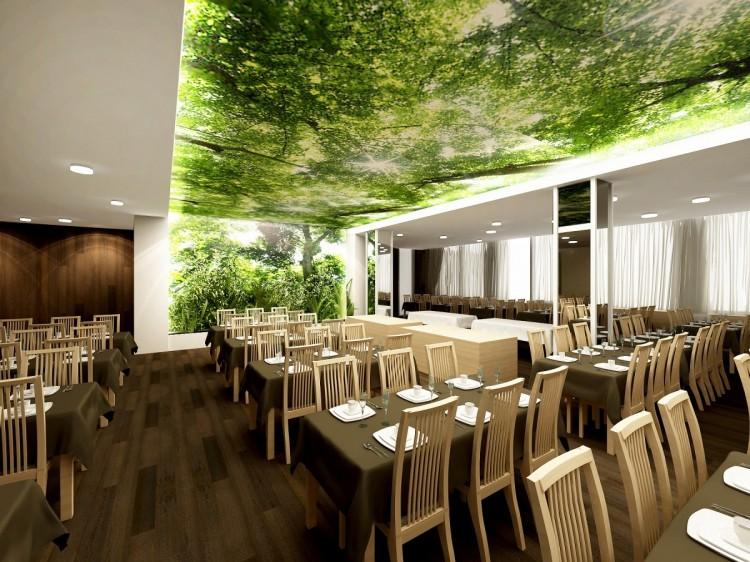 restaurant facelift Dudince