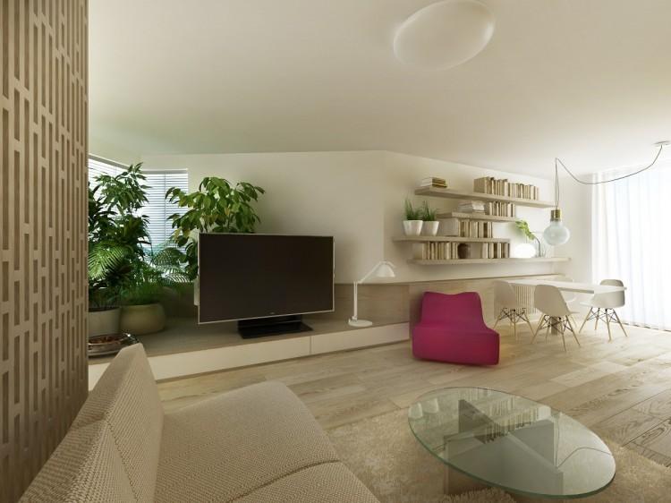 interiér bytu Bánovce