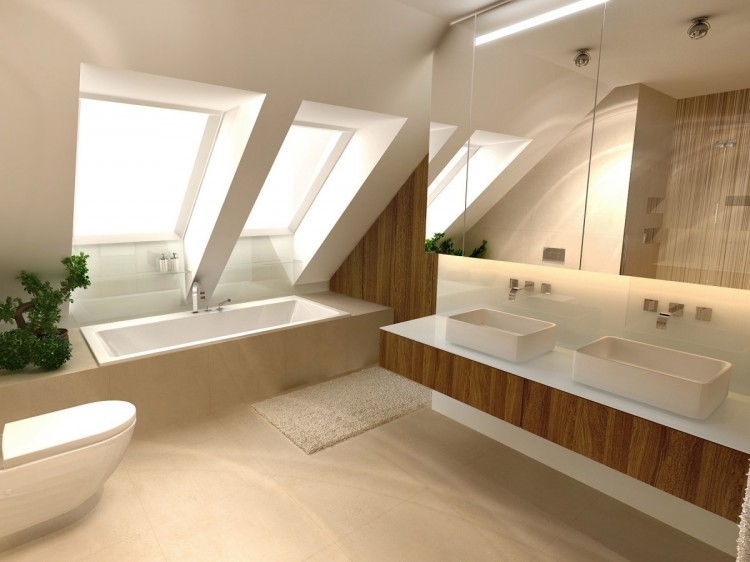 mansard bathroom