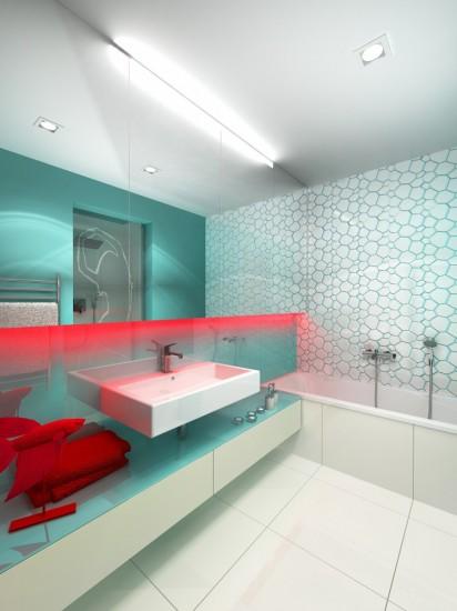 kúpleňa pre tanečnicu